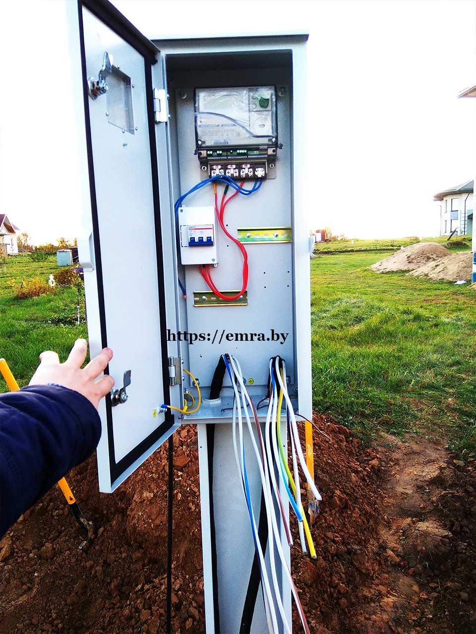 Подключение электричества к частному дому минск игэу электроснабжение участка методические указания